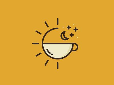 24 hour cafe cafe restaurant food and drink beverages food branding illustration mono line vector identity mark design brand sale logo