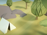 Low Poly Woods