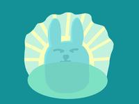 Bunny sunrise