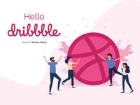 Hello Dribble 👋