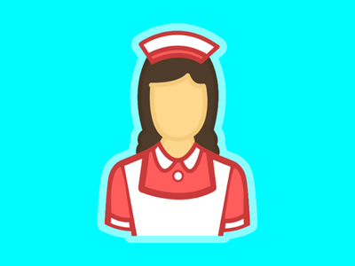 Housekeepers - Logo icon female person web service clean housekeeper app logo cleaner maid