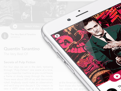 Boovi - Content Page - Hi Res Mock simple appstore app product ux iphone ios design ui