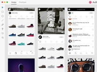 Adobe XD - Boovi - Rebound for Content/Commerce UI Template