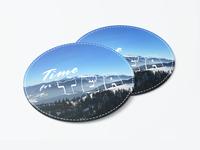Coaster design with my winter memories)