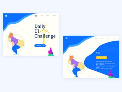 Daily Ui Landing Page