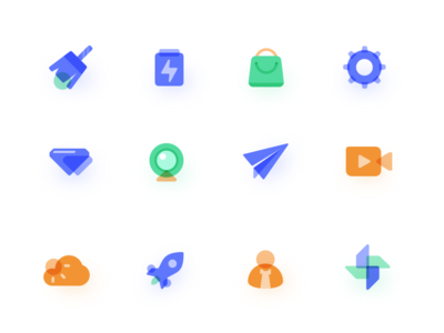 Vehicle Systems icons