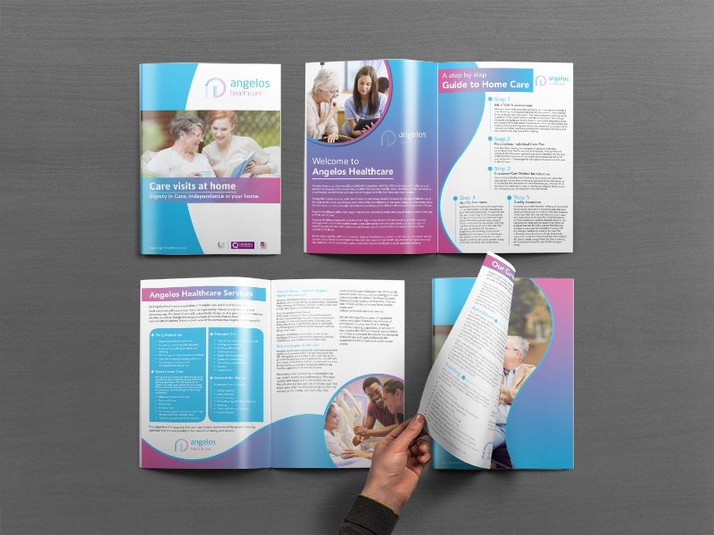 Home Care Brochure By Shibly Sadiq Sifat On Dribbble