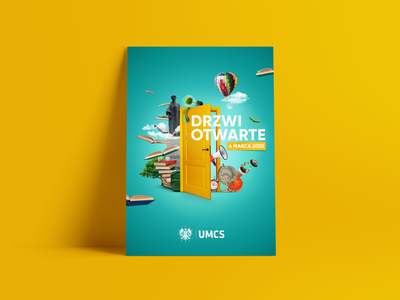 Open Days UMCS 2020 branding design promo visual branding brand open days design art visual design visual art key visual university design