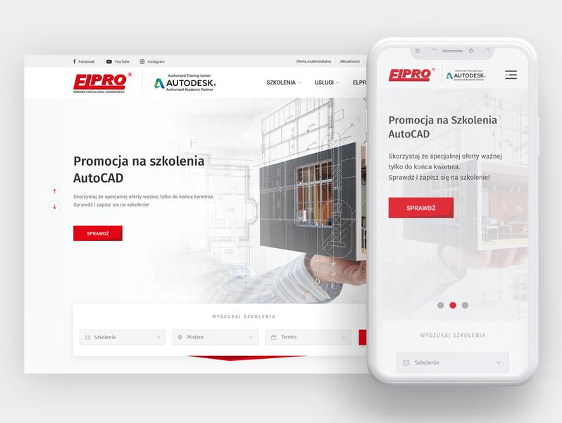 ELPRO website concept websites website userinterface ux uiux ui design mobile design mobile desktop designs web design web ui webdesig design