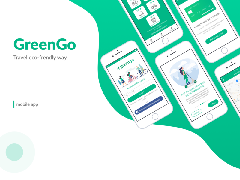 GreenGo - Travel eco-friendly way mobile app