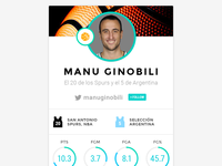 Daily UI - 006 - User Profile