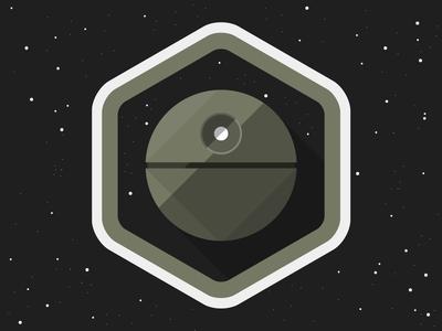 Death star badge
