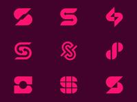 S Logo identity design identity brand design design branding vector logotype logo