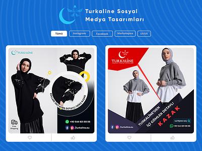 Turkaline Sosyal Medya brand socialmediamarketing ui graphicdesign design sosyalmedya socialmedia turkaline