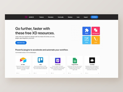 Redesigning Adobe Xd Page | Press 'L' if you like this one!