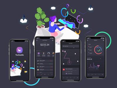 Technofin App Design
