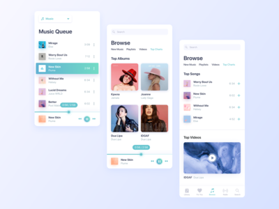 Apple Music Player Redesign