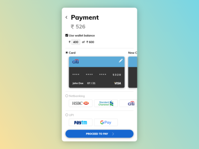 [2/11] [mobile design] payments page