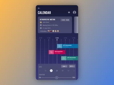 [8/11] [mobile design] calendar