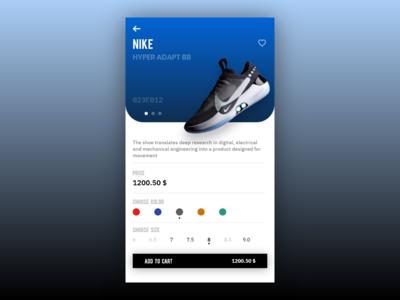[9/11] [mobile design] shop shoe