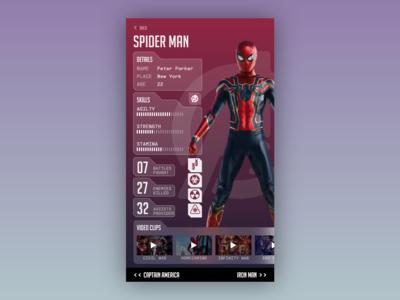[10/11] [mobile design] Avengers Guide