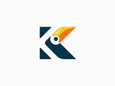 Toucan letter K