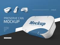Preserve Can Mockup Set