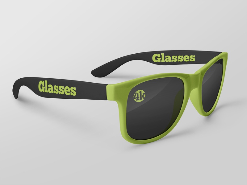 2 Free Glasses Mockups sunglasses style spectacles optics lens glasses fashion eyeglasses mockups freebie mockup free