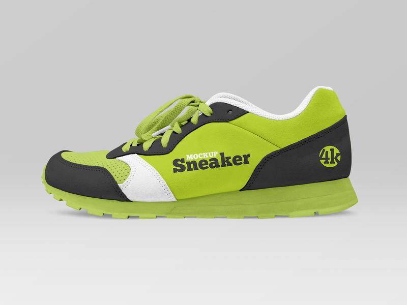 Free Sneaker Mockup fashion sport sneakers sneaker shoes shoe gym footwear apparel freebie mockup free