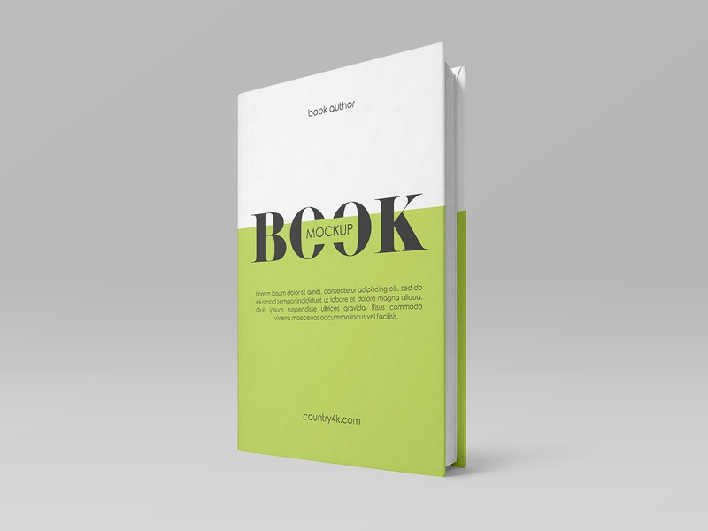 2 Free Book Mockups paper notepad notebook education hardcover cover catalog book mockups freebie mockup free