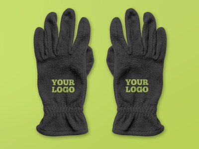 2 Free Glove Mockups sport winter training logo fitness clothes gloves glove mockups mockup freebie free