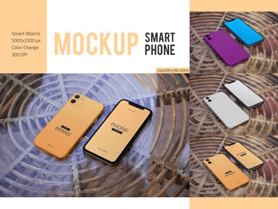 iPhone Mockup Set mockups mockup web technology smartphone screen mobile iphone display device application app