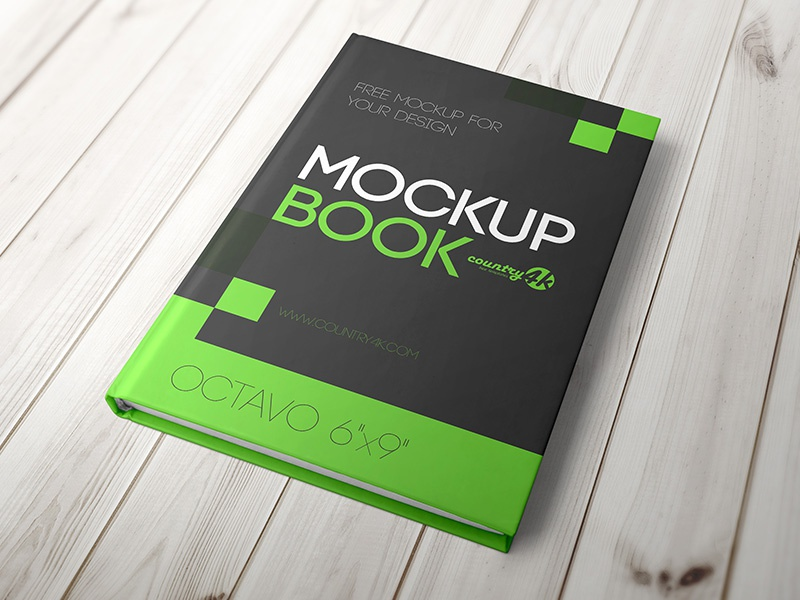 free hardcover book mockup in psd by country4k dribbble