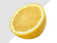 Free Lemon Transparent PNG Pack