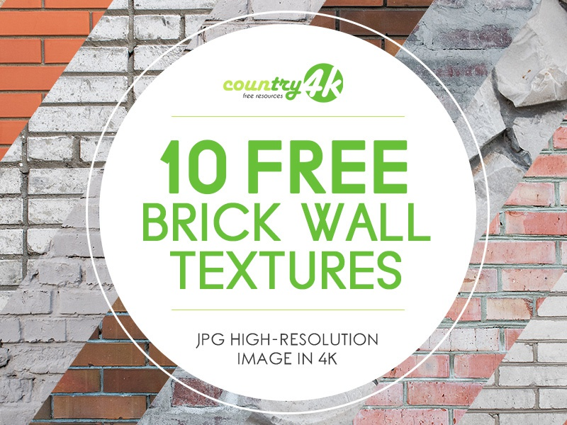 10 Free Brick Wall Textures By Country4k On Dribbble