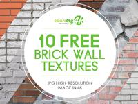 10 Free Brick Wall Textures