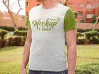 2 Free T-Shirt MockUps in 4k
