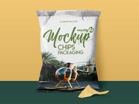 Free Chips Packaging MockUp in 4k