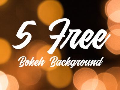 5 Free Bokeh Background Wallpapers