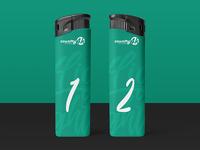 Free Lighter PSD MockUp in 4k