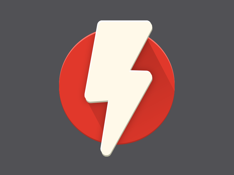 Flash icon for android android design material icon flash