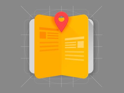 Icon Placebook app icon.