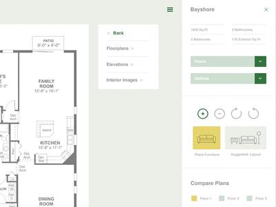 Home Builder UI Design