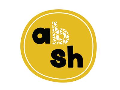 Art by Sharon Hillman - Personal Logo artbysharonhillman freehand illustrator logo design