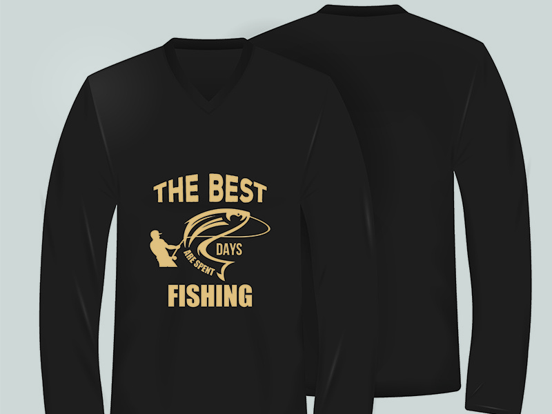 Fishing t-shirt design by Md  Ariful Islam on Dribbble