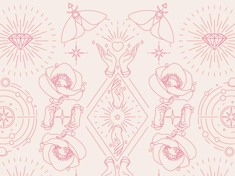 Brand illustrations - pattern