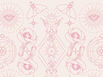 Brand illustrations - pattern branding designer svg illustrations vector illustration branding design branding design