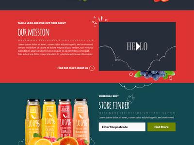 The good juice company - website design web design website responsive
