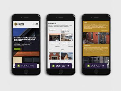 mobile first  page layout ui web ux website mobile responsive design webdesign