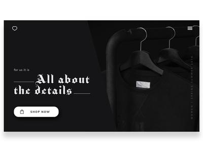 shop UI/UX design ecommerce app website web design design ux ui
